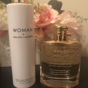 Ralph Lauren Woman EDP 3.4fl Oz & Lotion 6.7fl oz